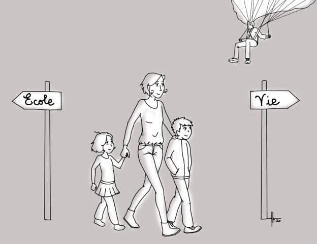 Une famille opte pour l'instruction en famille